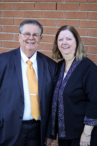 Pat and Donna Davis